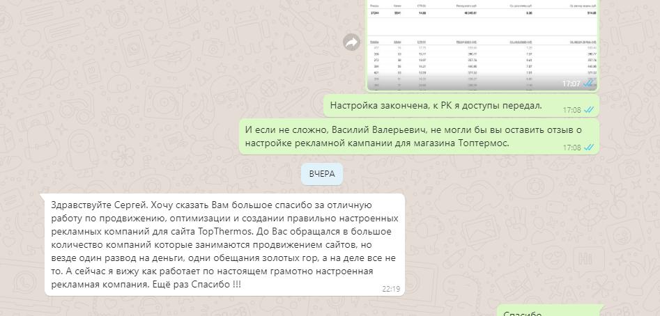 Настройка яндекс директ отзывы